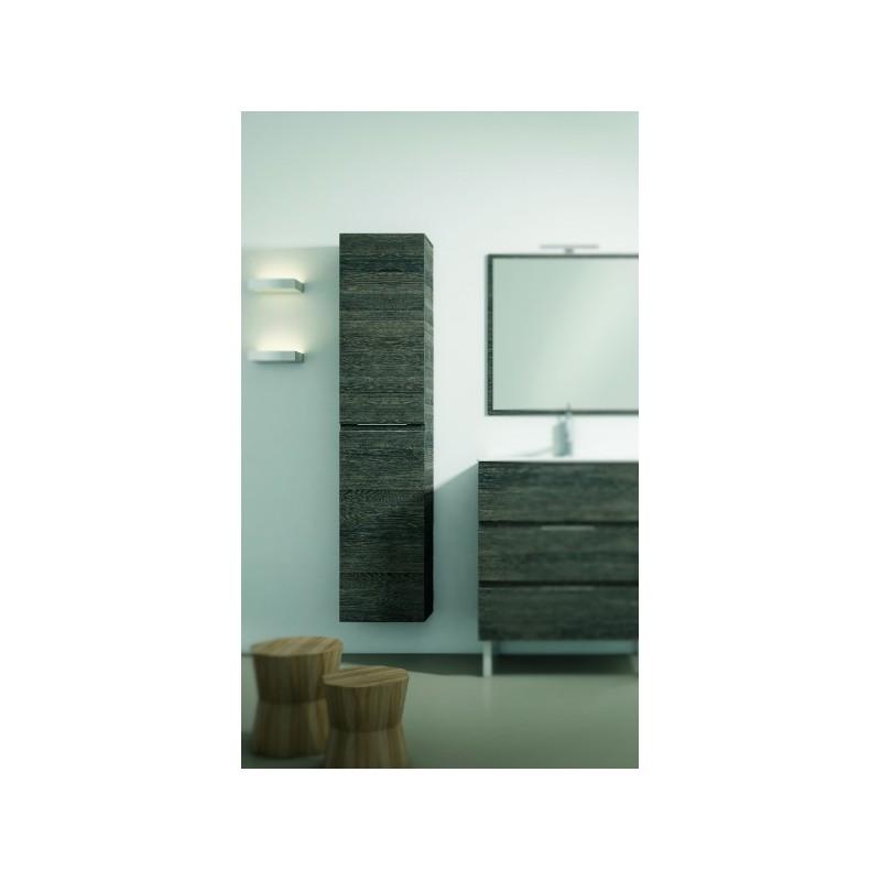 colonne de salle de bain suspendue kappa 2 portes robinet