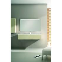 Miroir JAVA avec LED intégrées rampe horizontale - commande sensitif
