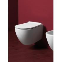 Cuvette WC suspendue design collection VIGNONI avec système RIMLESS de SIMAS