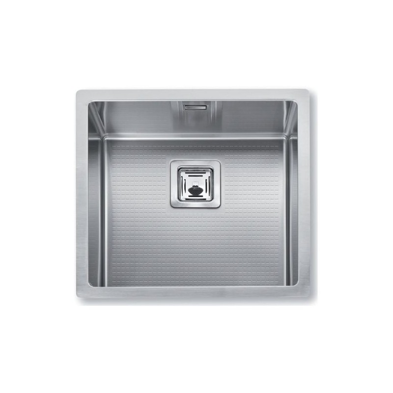 Cuve evier inox sous plan mg 45 x 40 cm robinet and co evier for Evier cuve inox