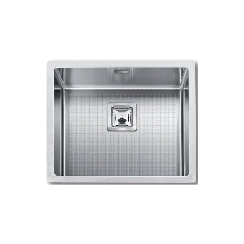 Cuve evier inox sous plan mg 50 x 40 cm robinet and co evier for Evier 1 cuve inox