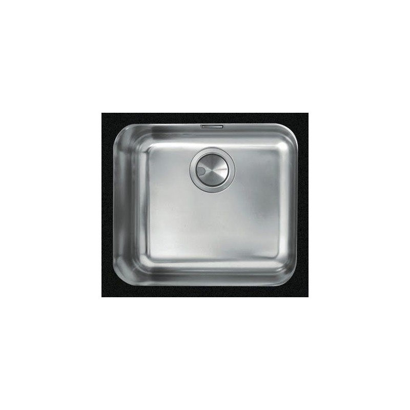 Cuve evier inox sous plan m 45 x 40 cm robinet and co evier for Cuve evier inox