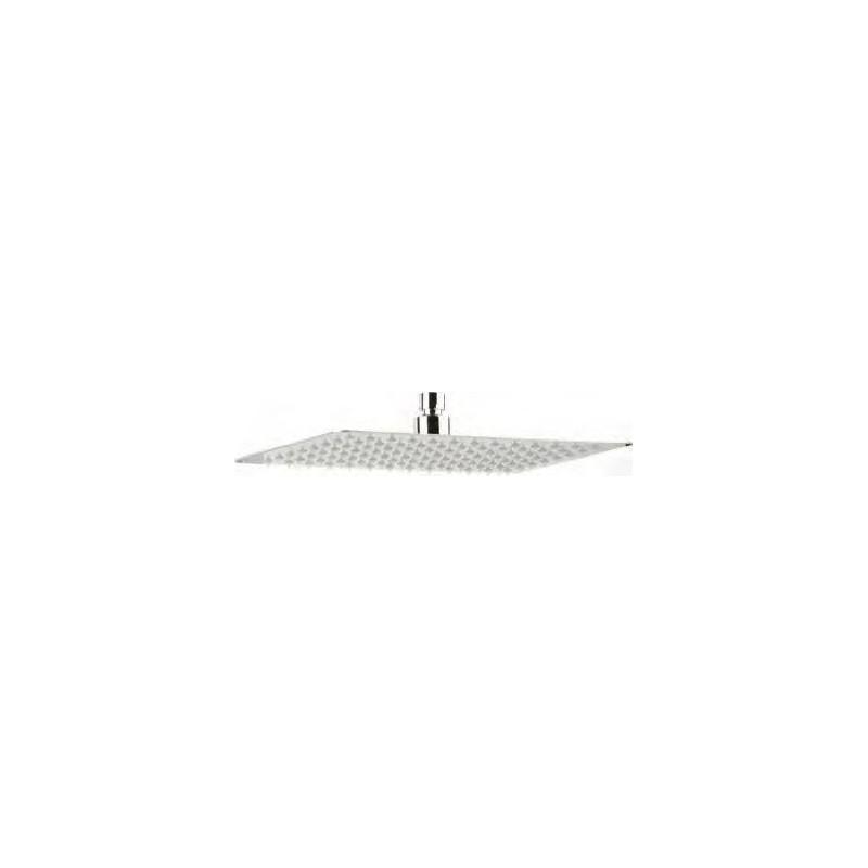 pomme de douche haute carr 400 x 400 laiton ultra fine robinet and co accessoires douche. Black Bedroom Furniture Sets. Home Design Ideas