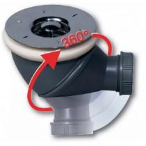 Option bonde multi orientable pour receveur Hidrobox diamètre 90 cm