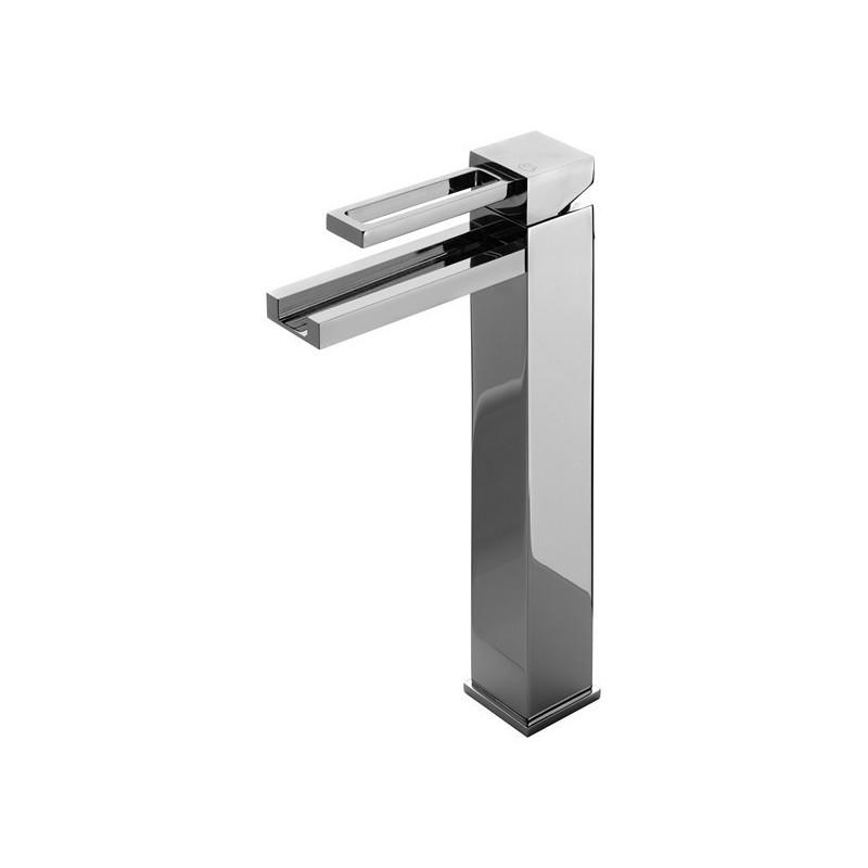 mitigeur vasque haut monotrou chrom ib robinetterie mr hyde finition nickel e bross e robinet. Black Bedroom Furniture Sets. Home Design Ideas
