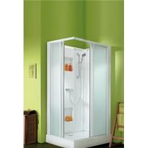 Cabine de douche intégrale d'angle LEDA IZIBOX