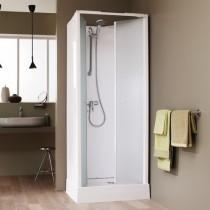 Cabine de douche intégrale d'angle LEDA SURF
