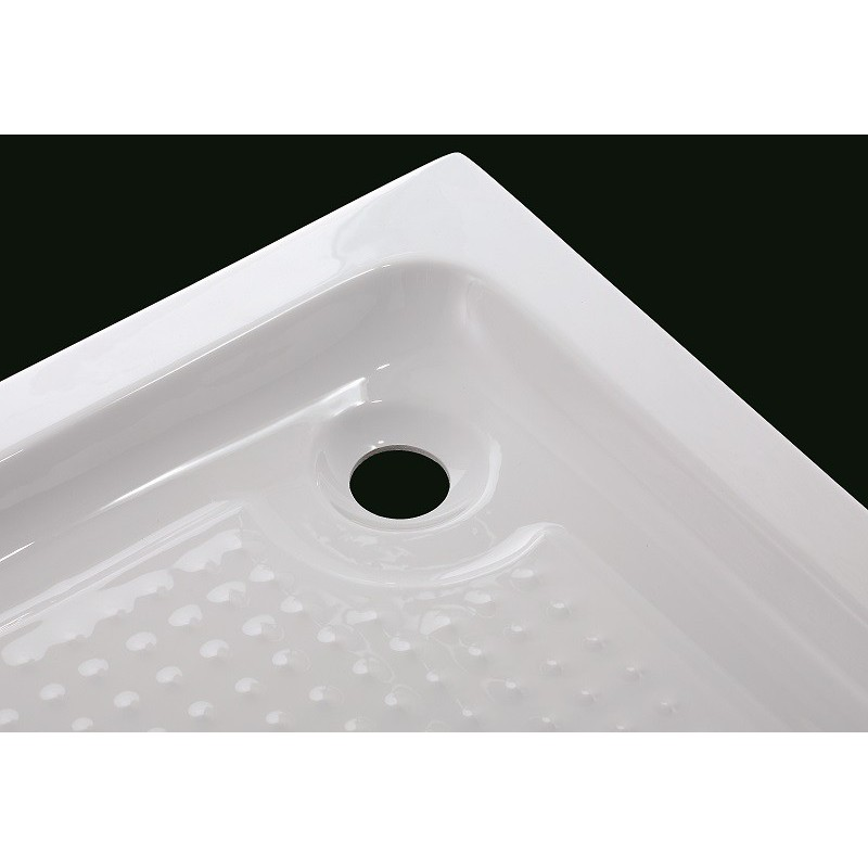 receveur de douche acrylique semi circulaire robinet and co receveur de douche. Black Bedroom Furniture Sets. Home Design Ideas