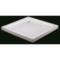 Receveur de douche acrylique carré