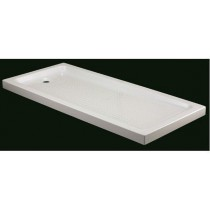 Bac de douche acrylique rectangulaire par Robinet and Co