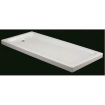 Bac de douche acrylique rectangulaire par Robinet and Co