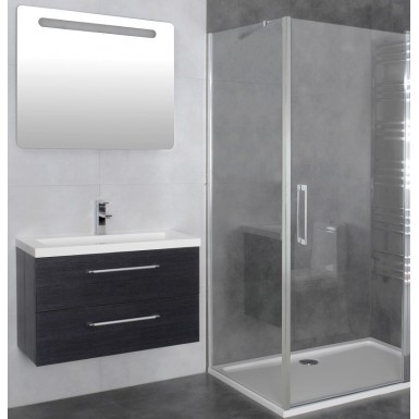paroi de douche d 39 angle porte battante helia b robinet and co paroi de douche. Black Bedroom Furniture Sets. Home Design Ideas