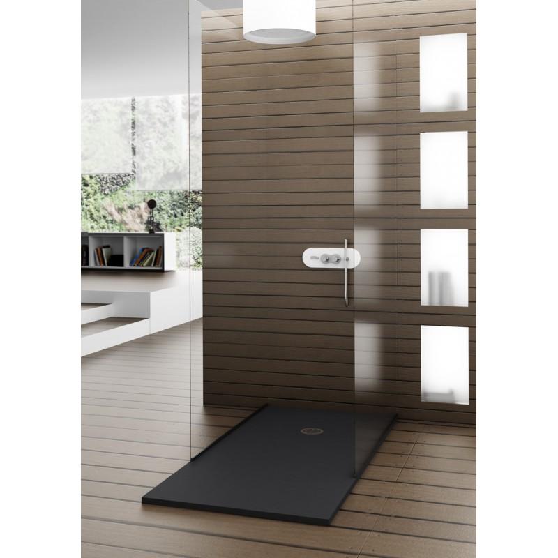 receveur de douche neo extraplat hidrobox ardois robinet and co receveur de douche. Black Bedroom Furniture Sets. Home Design Ideas
