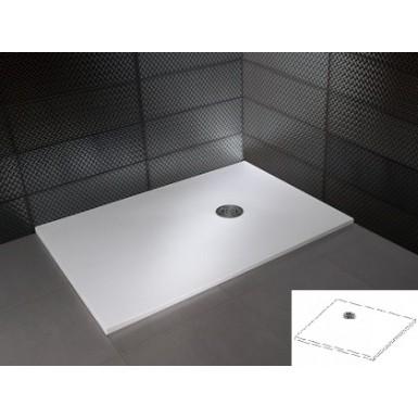 Receveur de douche carré NATURE extraplat Hidrobox