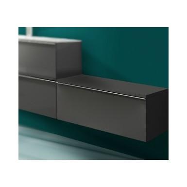 meuble bas suspendu phi avec plan de toilette 1 tiroir robinet and co meuble suspendu. Black Bedroom Furniture Sets. Home Design Ideas