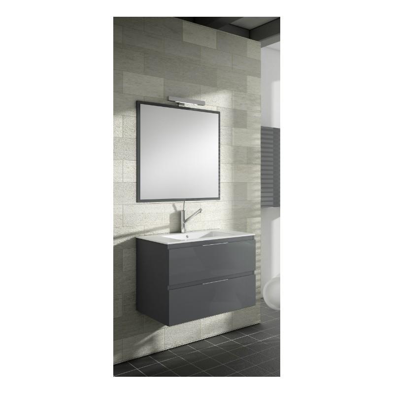 meuble sous vasque suspendu kuta 2 tiroirs verticaux robinet and co meuble suspendu. Black Bedroom Furniture Sets. Home Design Ideas