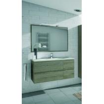 Meuble de salle de bain suspendu BORNEO 4 tiroirs
