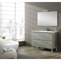 Meuble salle de bain sur pieds BALI 4 tiroirs
