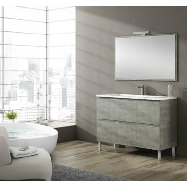 meuble salle de bain sur pieds bali 4 tiroirs robinet and co meuble sur pieds. Black Bedroom Furniture Sets. Home Design Ideas