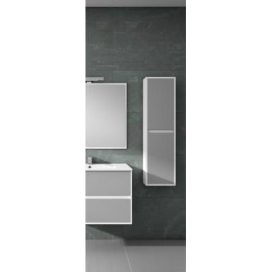colonne de salle de bain suspendue ankara 2 portes. Black Bedroom Furniture Sets. Home Design Ideas