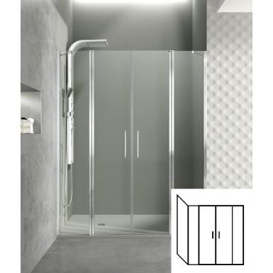 Paroi de douche d'angle portes battantes HELIA G