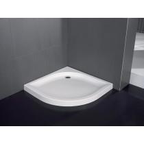 Receveur acrylique angulaire 90 x 90 cm pose semi-encastrée VISUAL Hidrobox