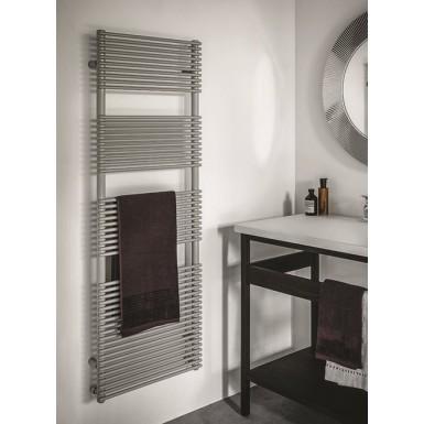 Radiateur s che serviette pour chauffage central mod le basics 14 robinet an - Seche serviette sous fenetre ...