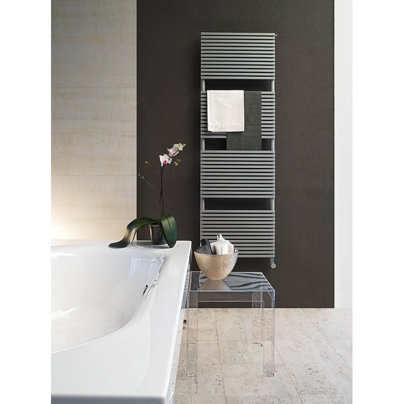 Radiateur s che serviette kubik pour chauffage central robinet and co radiateur - Seche serviette chauffage central ...