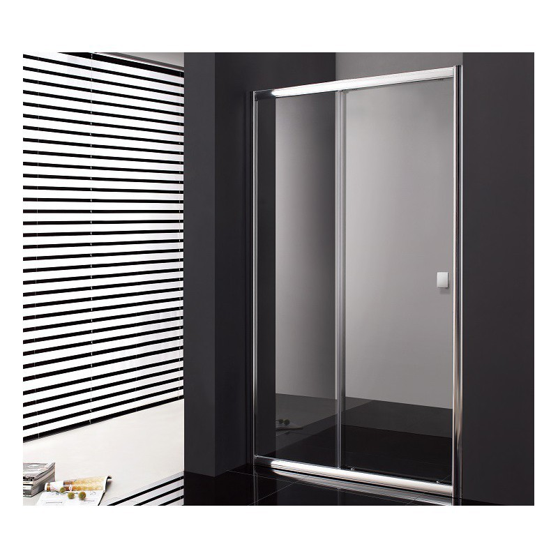 paroi de douche coulissante cronos 140 cm robinet and co. Black Bedroom Furniture Sets. Home Design Ideas