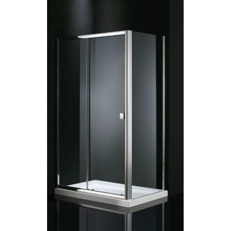 paroi de douche d 39 angle cronos s rigraphi e acc s sur cot. Black Bedroom Furniture Sets. Home Design Ideas