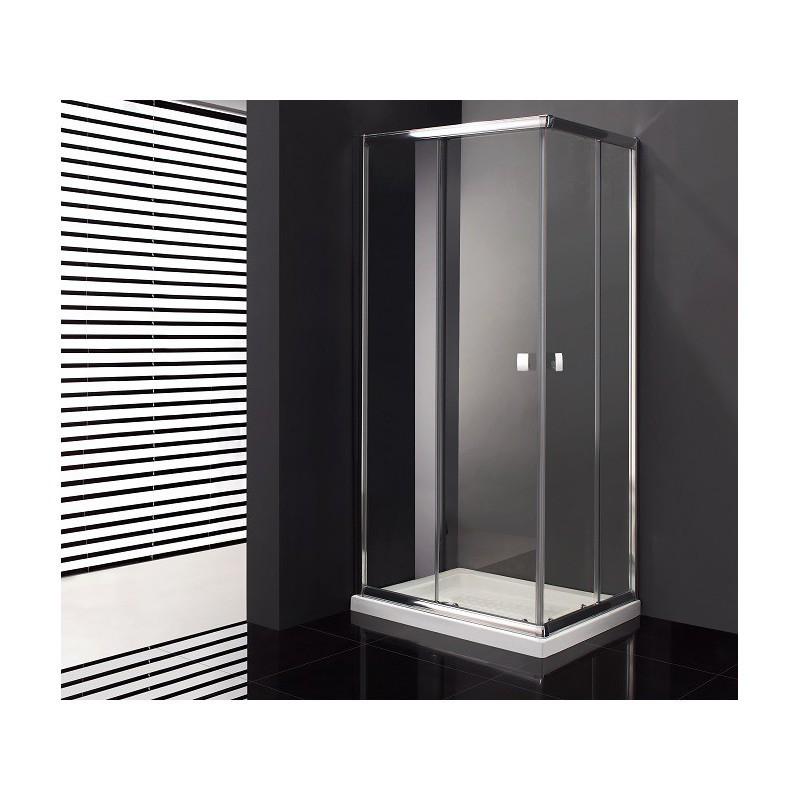 paroi de douche d 39 angle cronos acc s sur angle 70 x 70 cm. Black Bedroom Furniture Sets. Home Design Ideas