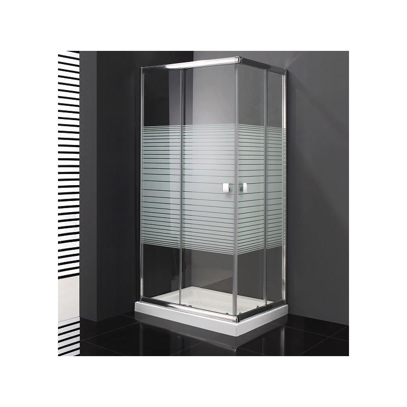 paroi de douche d 39 angle cronos s rigraphi e acc s sur. Black Bedroom Furniture Sets. Home Design Ideas