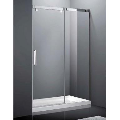 Paroi de douche coulissante crios i 120 cm robinet and co for Porte 120 cm de large