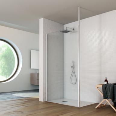 ecran de douche rocco semplice avec syst me de profil t l scopique robinet and co paroi de douche. Black Bedroom Furniture Sets. Home Design Ideas