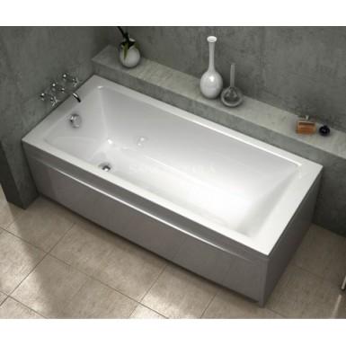 Baignoire acrylique droite bali sanycces robinet and co - Baignoire ilot 160x70 ...