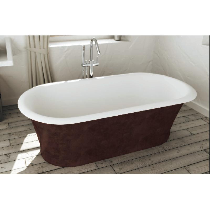 baignoire ilot solid surface classic sur pieds sanycces. Black Bedroom Furniture Sets. Home Design Ideas