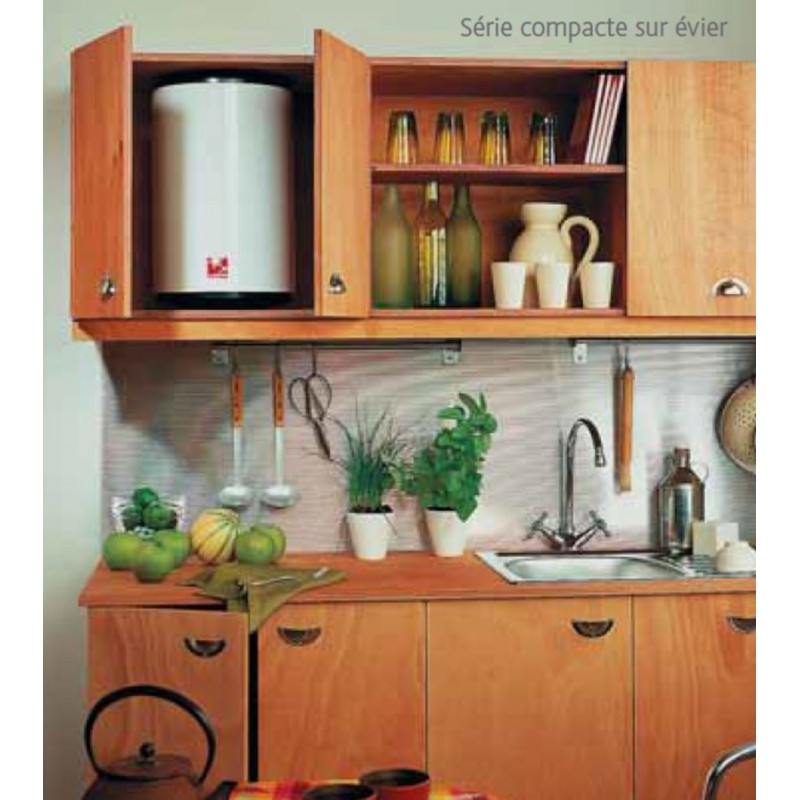 chauffe eau electrique atlantic petite capacit 15 l robinet and co. Black Bedroom Furniture Sets. Home Design Ideas