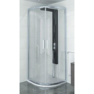 paroi de douche quart de rond