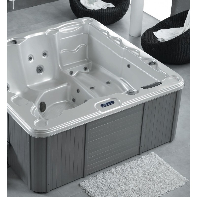 jacuzzi 5 personnes delos de chez sanycces robinet and co spa. Black Bedroom Furniture Sets. Home Design Ideas