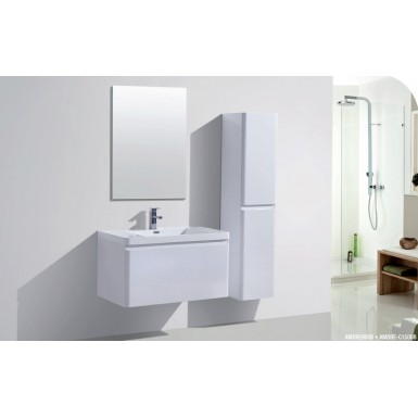 meuble sous vasque suspendre ambre robinet and co meuble suspendu. Black Bedroom Furniture Sets. Home Design Ideas
