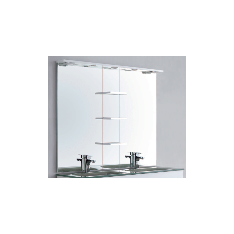 Miroir rectangulaire pop robinet and co miroir for Miroir rectangulaire