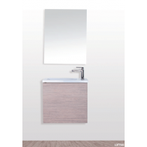 Pack meuble + vasque + miroir LOFT 500