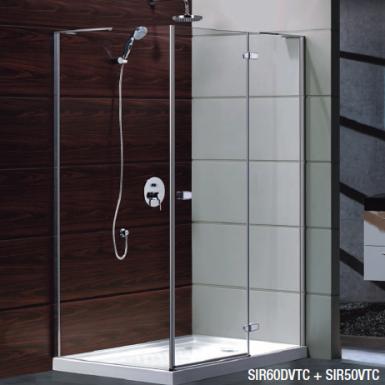 paroi de douche acc s d 39 angle pivotante sirus robinet and co paroi de douche. Black Bedroom Furniture Sets. Home Design Ideas