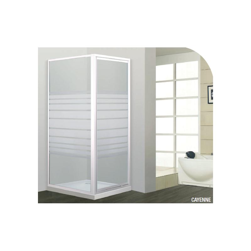paroi de douche acc s d 39 angle cayenne robinet co. Black Bedroom Furniture Sets. Home Design Ideas