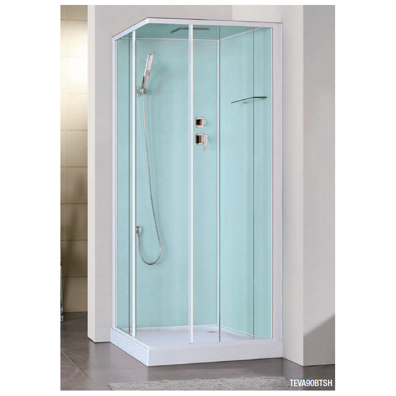 cabine de douche int grale teva robinet and co cabine de douche. Black Bedroom Furniture Sets. Home Design Ideas