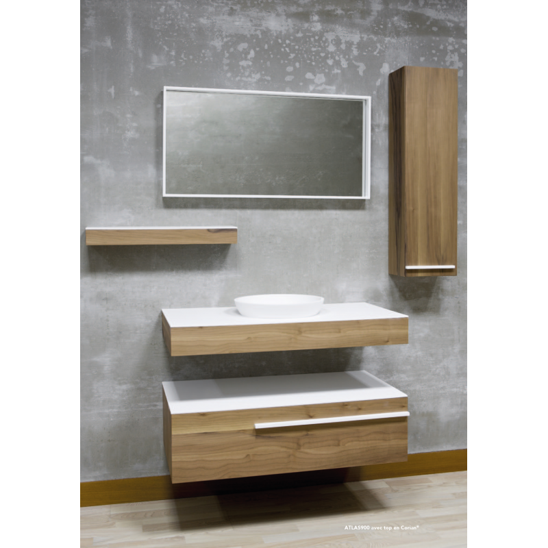 meuble de salle de bain suspendre atlas robinet and co meuble suspendu. Black Bedroom Furniture Sets. Home Design Ideas