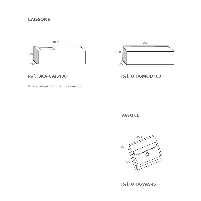 meuble suspendre okapi robinet co. Black Bedroom Furniture Sets. Home Design Ideas