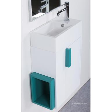 meuble lave mains poser pop vasque en marbre de synth se robinet and co meuble sur pieds. Black Bedroom Furniture Sets. Home Design Ideas