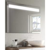 Miroir ABA avec bandeau a LED horizontal