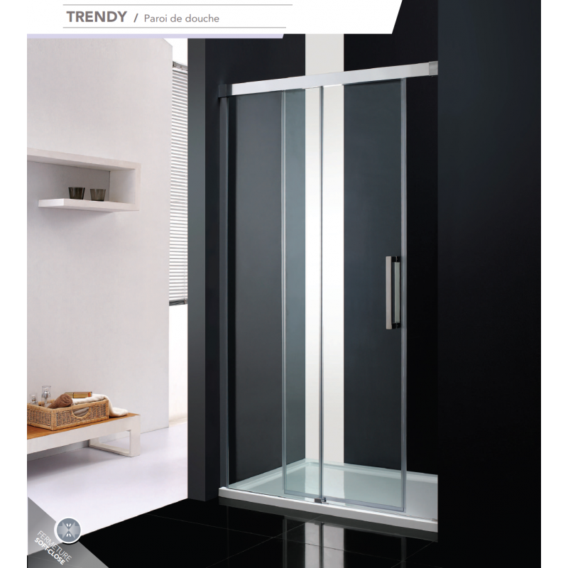 paroi frontale coulissante trendy fermeture progressive robinet and co paroi de douche. Black Bedroom Furniture Sets. Home Design Ideas